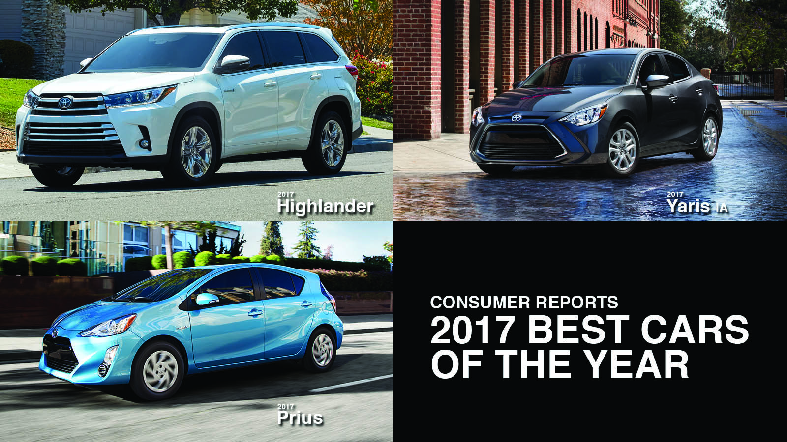 Consumer Reports 2017 Best Cars Of The Year