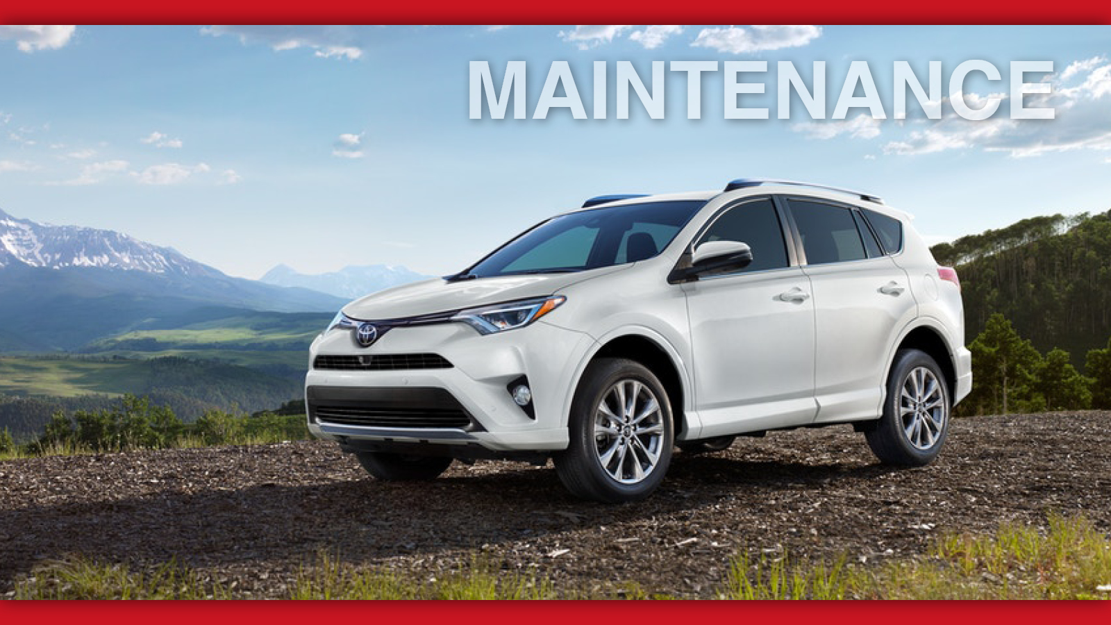 Toyota Rav4 Maintenance Schedule