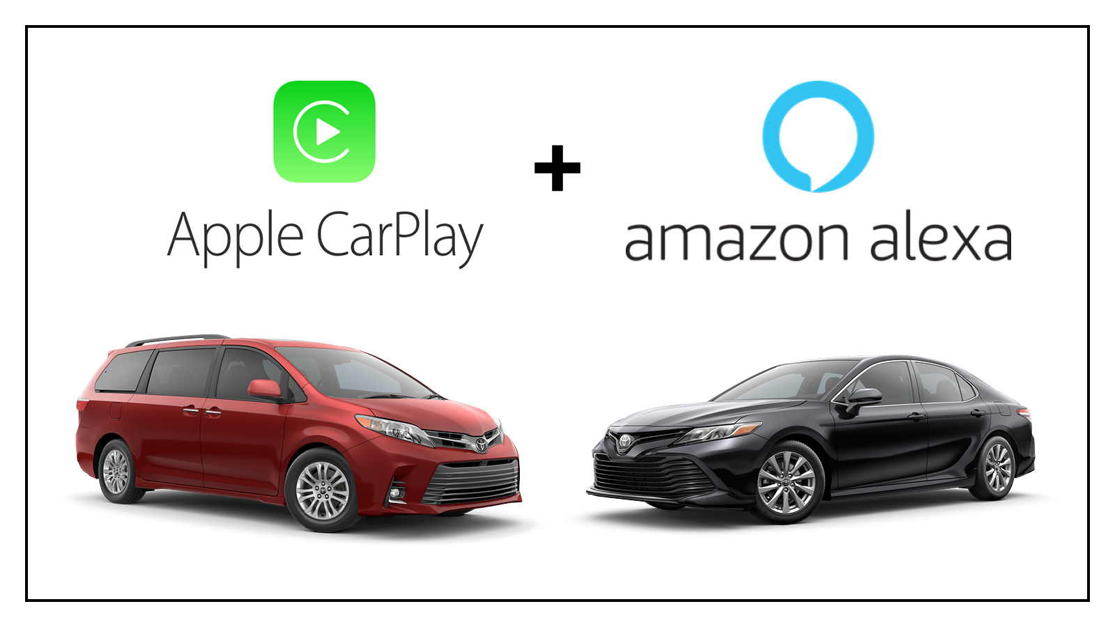 Le Carplay And Alexa Are Coming To The 2019 Toyota Camry Sienna