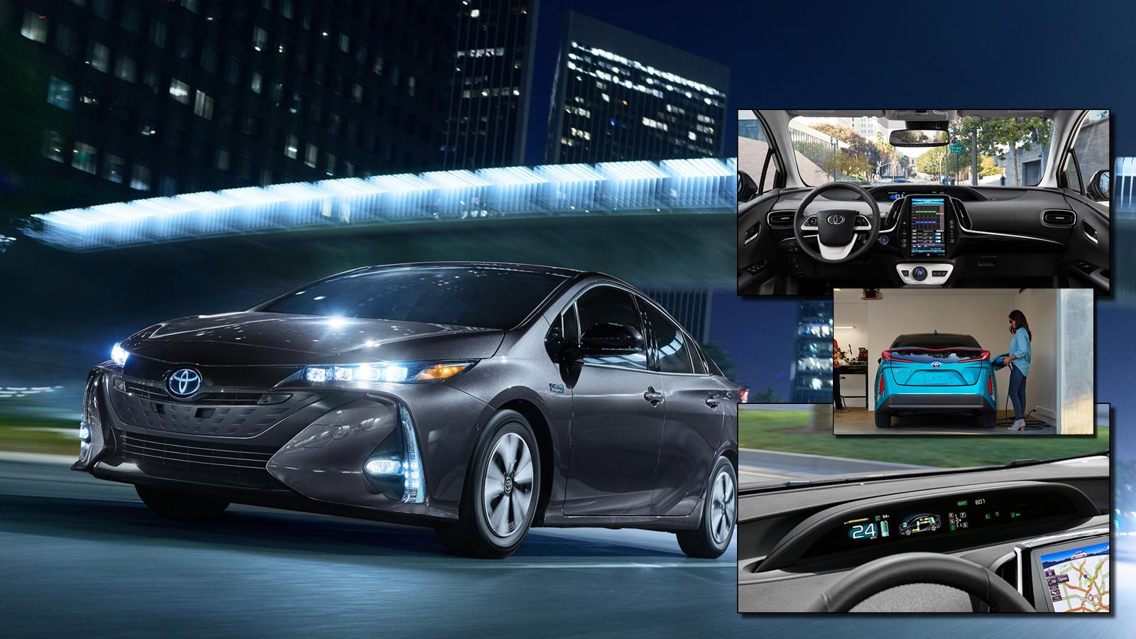 2018 Toyota Prius Prime Premium Vs Advanced